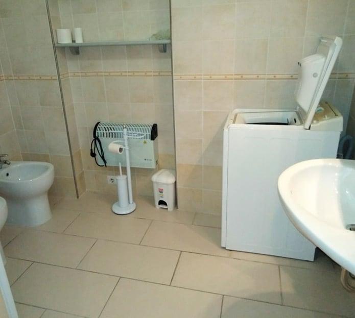 Bagno dell'appartamento in Via Risorgimento