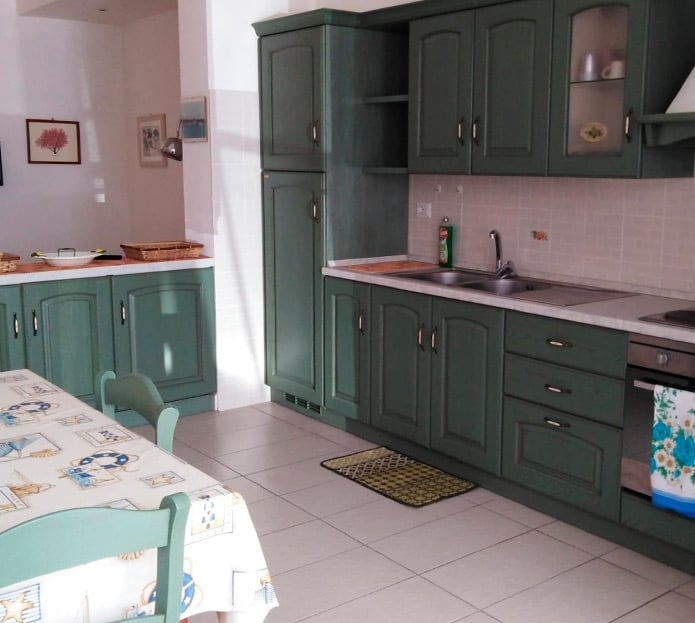 Cucina appartamento in Via Risorgimento